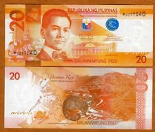 Philippines, 20 Piso, 2010, P-206ar, UNC> REPLACEMENT, star note