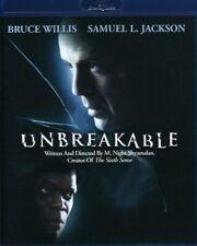 Unbreakable - Bruce Willis Samuel L. Jackson Blu-Ray