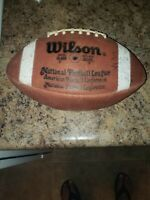 Wilson Official nfl Game use Football American  conference autographed Tennessee