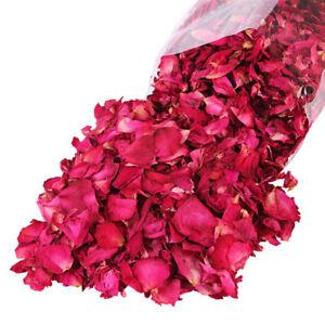 100G Dried Rose Petals Natural Dry Flower Petal Spa Whitening' Shower Bath Bj