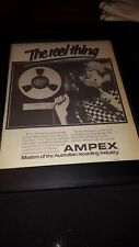 Jon English Calm Before The Storm Rare Original Ampex Promo Poster Ad Framed!