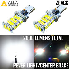 Alla Lighting 48-LED 921 Backup Reverse Light Bulb,Center High Stop/Brake,White