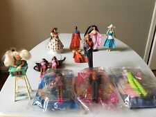 Barbie McDonald's Happy Meal Dolls from Around the World and  1998 Barbie set