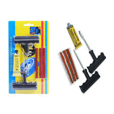 6pcs Car Auto Tubeless Tyre Puncture Plug Tire Repair Motorcycle Cement Tool Kit