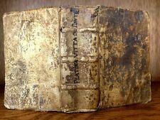 1552 LIVES OF POPES STARTING FROM CHRIST TILL SIXTUS IV by Bartolomeo Platina