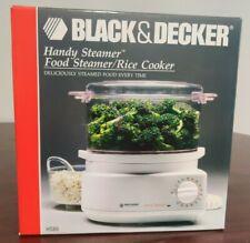 NEW UNOPENED Black & Decker HS80 Handy Food Steamer Rice Cooker - NIB