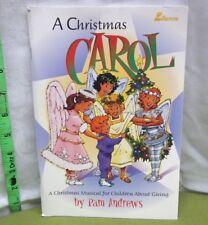 CHRISTMAS CAROL Pam Andrews songbook 2003 Children's Musical holidays