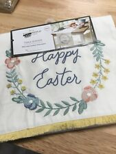 Happy Easter Table Runner 14 X 72 100%cotton
