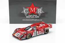 Ferrari 512 M #16 4. Platz 24h LeMans 1971 Craft, Weir 1:18 CMR