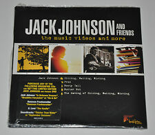 Jack Johnson and Friends Limited Music Video DVD Promo - New