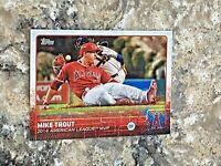 2015 Topps Series 2 Mike Trout #510 Los Angeles Angels MLB Baseball Card