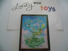 1994 Disney Peter Pan Hardcover storybook - Todd Strasser - LIKE NEW CONDITION