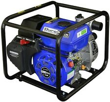 Portable Utility Water Pump Gas Powered 7 HP 2 in. Heavy Duty Pool Flood Mover