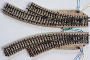 elektromagnetisch Weiche rechts 5142 von Märklin M-Gleis