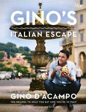 Gino's Italian Escape by D'Acampo, Gino | Hardcover Book | 9781444751727 | NEW
