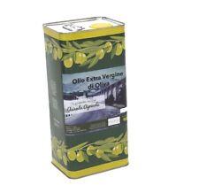 5 Litri Olio Extravergine di Oliva EVO Extra Vergine Pregiato Alta Qualità Offer