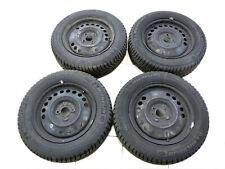 4x complete wheels Rim winter tires 185/65R15 4X100 6.2-7.5mm Nissan Note E12 13