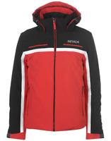 Nevica Brian Ski Snowboarding Jacket Coat Mens Size UK 2XL Red/Black *Ref108