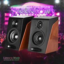 Portable Mini USB Speaker Stereo Loudspeaker Music Sound For Laptop Desktop PC