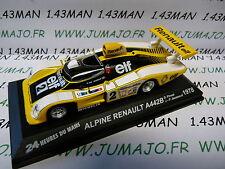 24H34M 1/43 IXO Altaya 24 heures du Mans : Alpine A442B winner 1978 Jaussaud 1st