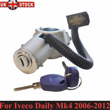 For Iveco Daily Mk4 2006-2012 Steering Lock Ignition Barrel Switch Starter 2 Key