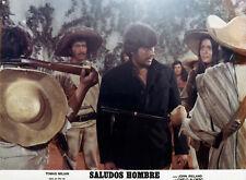 Photo originale Tomas Milian Saludos, hombre Sergio Sollima western spaghetti