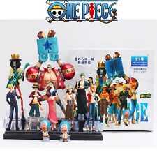 ONE PIECE SET 10 FIGURAS FIGURE LUFFY NAMI ZORO SANJI CHOOPER