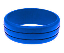 Unique Men's Rubber Silicone Wedding Ring Band Best Quality Food Grade Size #10