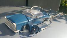 VINTAGE CADILLAC VOLGA GAZ ZIM ZIL PLASTIC TOY CAR 1970'S  REMOTE CONTROLED USSR
