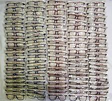 Vintage 100 Pc. Elan # 603 Asst Carbon 56/16 Eyeglass Frame Lot NOS lot#118