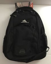New HIGH Sierra RIP-RAP Lifestyle BACKPACK Black, LARGE Lap-top  POCKET, w/ Tags