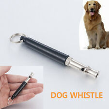 Dog Whistle Training Ultrasonic Pitch Sound Obedience Command Stop Barking JT
