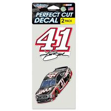 New NASCAR Kurt Busch 41 HAAS 2 Pack Die Cut Decals