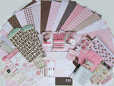 """Pebbles """"New Addition/New Arrival"""" 12x12 Paper & Embellishments [Set A] Save 75%"""