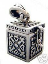 LOOK New Opens - Zeus Pandora's Box Hope Chest Sterling Silver .925 Charm Jewelr