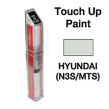 Hyundai OEM Brush&Pen Touch Up Paint Color Code : N3S / MTS - Shimmering SIlver