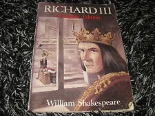 RICHARD III COMPLETE EDITION BY WILLIAM SHAKESPEARE A PLAY GC