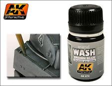 AK Interactive AKI 070 - Brown Blue Wash for Panzer Grey Vehicles