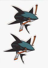 NHL SAN JOSE SHARKS JERSEY SHOULDER PATCH LOT OF TWO PATCHES