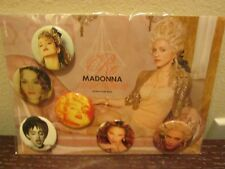 Madonna 2004 Re-Invention World Tour Pin Set Brand New In Package