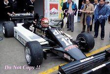 Eliseo Salazar marzo 811 San Marino Grand Prix 1981 fotografía 1