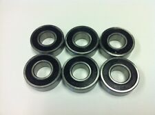 "Belt grinder wheel bearings for 2x72"" knife grinders Set of 6 bearings 1616"