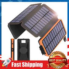 Portable Solar Power Bank 250000mAh Universal 2 USB External Battery Charger