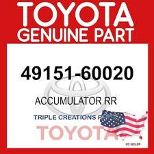 Genuine Toyota 49151-60020 ACCUMULATOR RR SUSP CONTROL RH/LH 4915160020 OEM