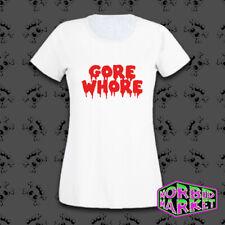 Señoras Gore prostituta horror T-Shirt Gotico Goth Punk Emo Punk Alt Sangre Halloween