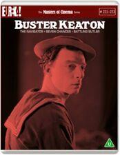Buster Keaton The Navigator Seven Chances Battling Butler Region B Blu-ray