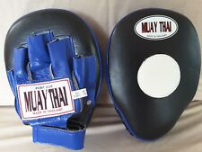 MUAY THAI FOCUS MITTS - ( QUALITY LEATHER)