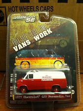 Greenlight VANS doing WORK 1977 Chevrolet G-20 City Fire Dept. Paramedic Van
