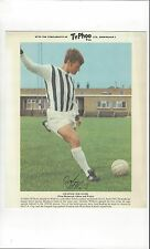 TyPhoo Tea Football Card Action - Graham Williams West Bromwich Albion