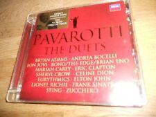"PAVAROTTI ""THE DUETS"" 2008 CD ALBUM 14 TRACKS DECCA RECORDS FRANK SINATRA STING*"